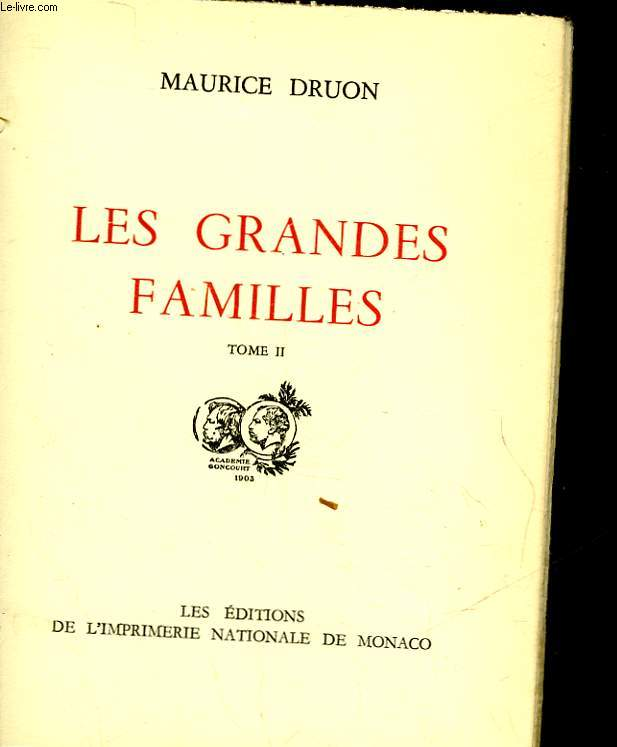 LES GRANDES FAMILLE S- TOME II