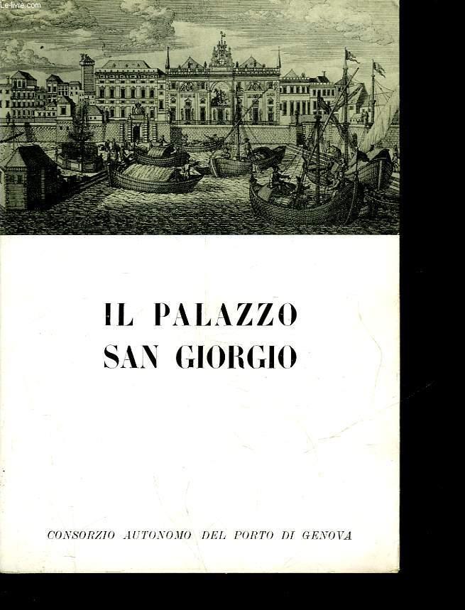 IL PALAZZIO SAN GIORGIO