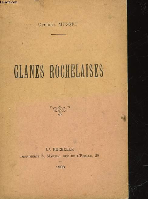 GLANES ROCHELAISES