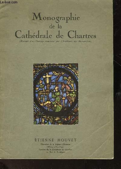 MONOGRAPHIE DE LA CATHEDRALE DE CHARTRE