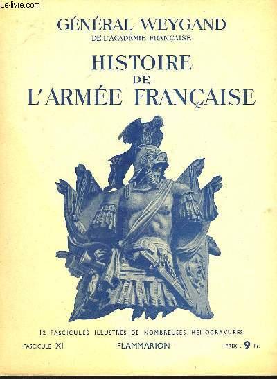 HISTOIRE DE L'ARMEE FRANCAISE - FASCICULE N°11