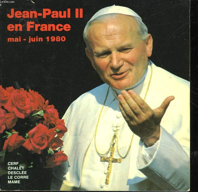 JEAN-PAUL II EN FRANCE