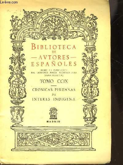 BIBLIOTECA DE AUTORES ESPAÑOLES - TOMO CCIX