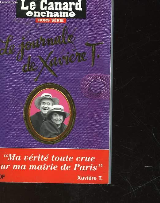 LE JOURNALE DE XAVIERE T.
