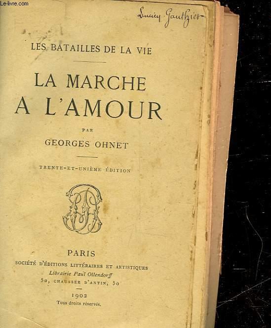 LA MARCHE A L'AMOUR