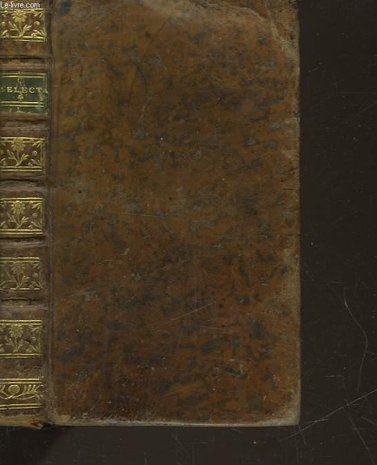 SELECTA LATINI SERMONIS EXEMPLARIA A SCRIPTORIBUS PROBATISSIMIS AD CHRISTIANE - PARS 4