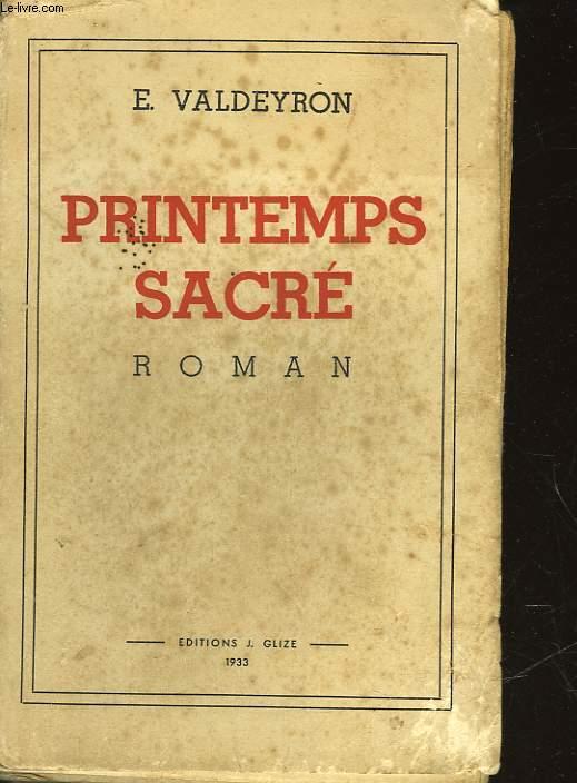 PRINTEMPS SACRE