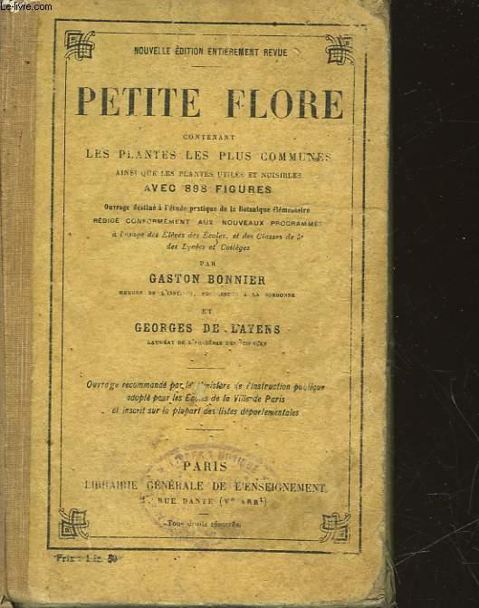 PETITE FLORE CONTENANT LES PLANTES LES PLUS COMMUNES