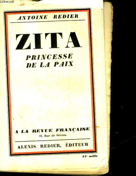 ZITA - PRINCESSE DE LA PAIX