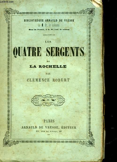 LES QUATRES SERGENTS DE LA ROCHELLE