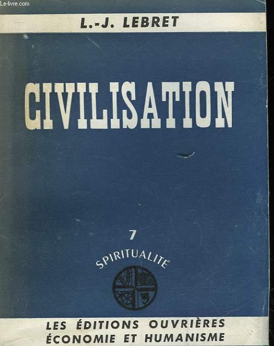 CIVILISATION - 7 - SPIRITUALITE