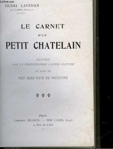 LE CARNET D'UN PETIT CHATELAIN