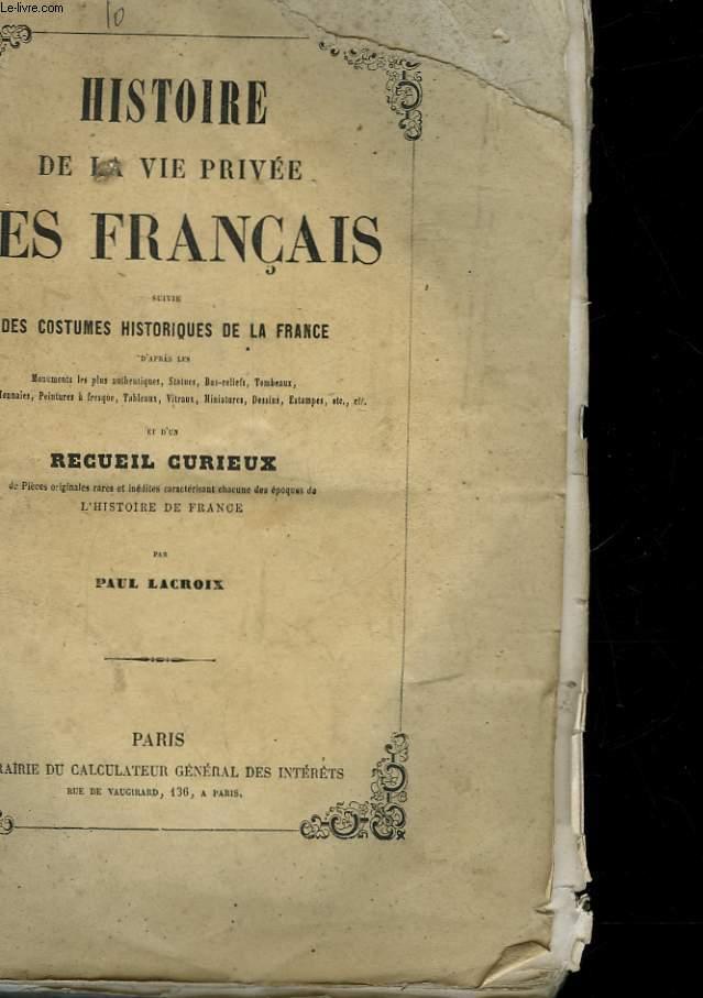 RECEUIL CURIEUX DE PIECES ORIGINALES RARES OU INEDITES EN PROSE ET EN VERS SUR LE COSTUME ET LES REVOLUTIONS DE LA MODE EN FRANCE