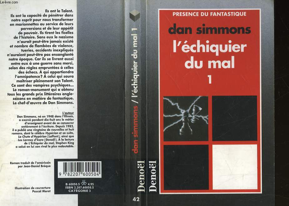 L'ECHIQUIER DU MAL - 4 TOMES