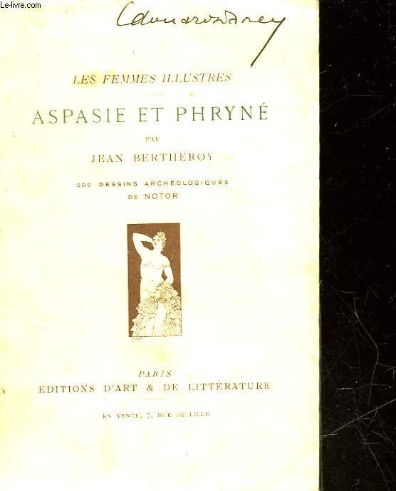 ASPASIE ET PHRYNE
