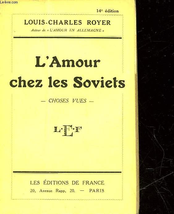 L'AMOUR CHEZ LES SOVIETS