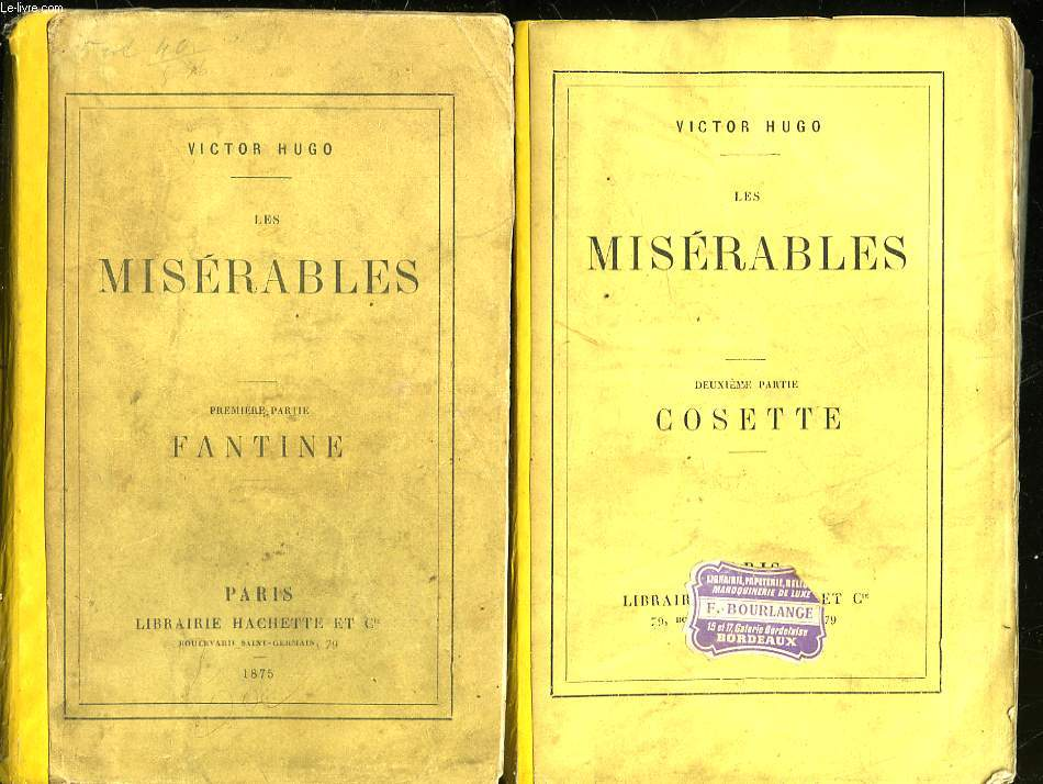LES MISERABLES - 4 TOMES