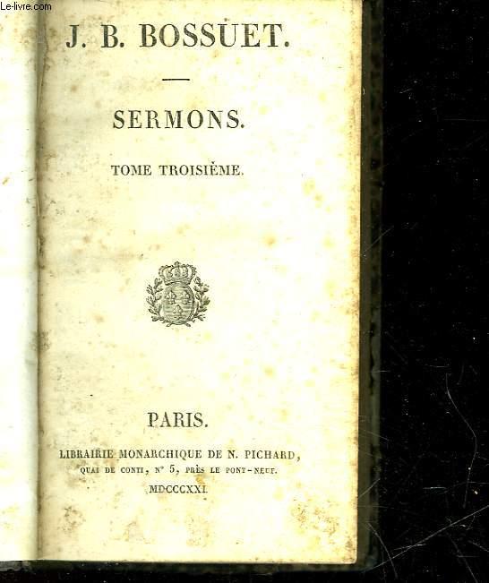 SERMONS - TOME 3