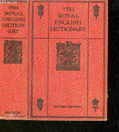THE ROYAL ENGLISH DICTIONNARY AND WORD TREASURY