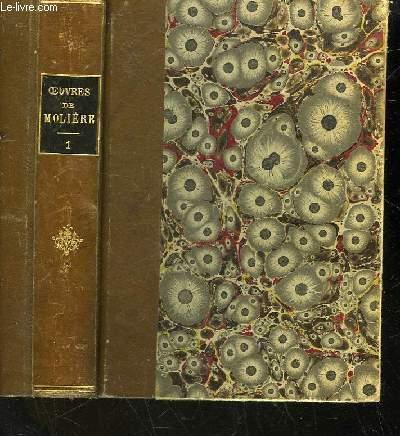 OEUVRES DE MOLIERE - D'APRES L'EDITION DE 1734 - TOME 1
