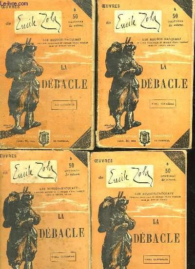 LA DEBACLE - 5 TOMES