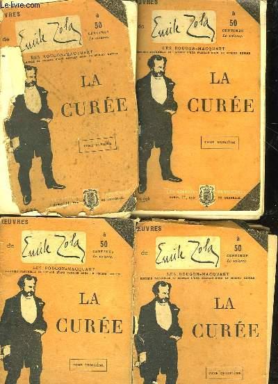 LA CUREE -  5 TOMES