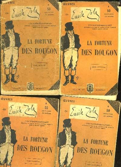 LA FORTUNE DES ROUGON - 5 TOMES