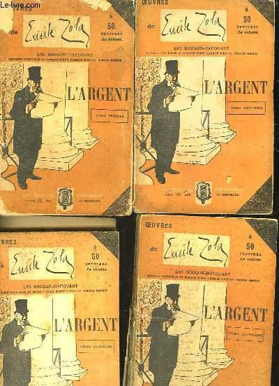 L'ARGENT - 4 TOMES