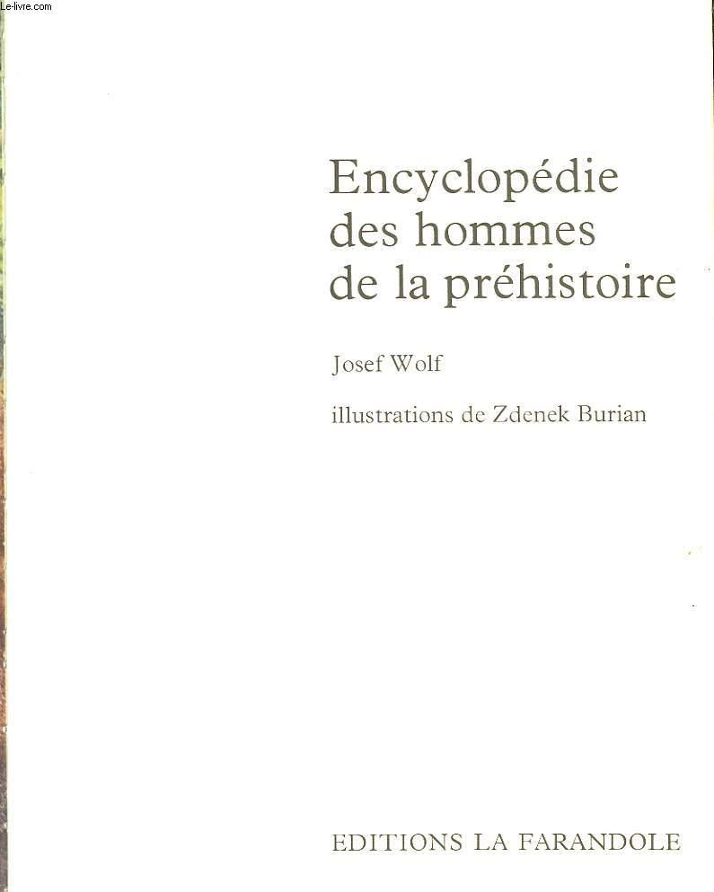 ENCYCLOPEDIE LA PREHISTOIRE