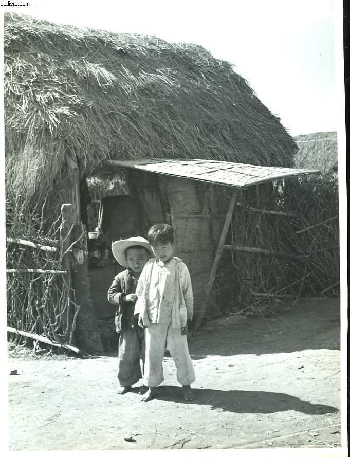 PHOTO ANCIENNE NOIR ET BLANC HO-CHI-MINH-VILLE