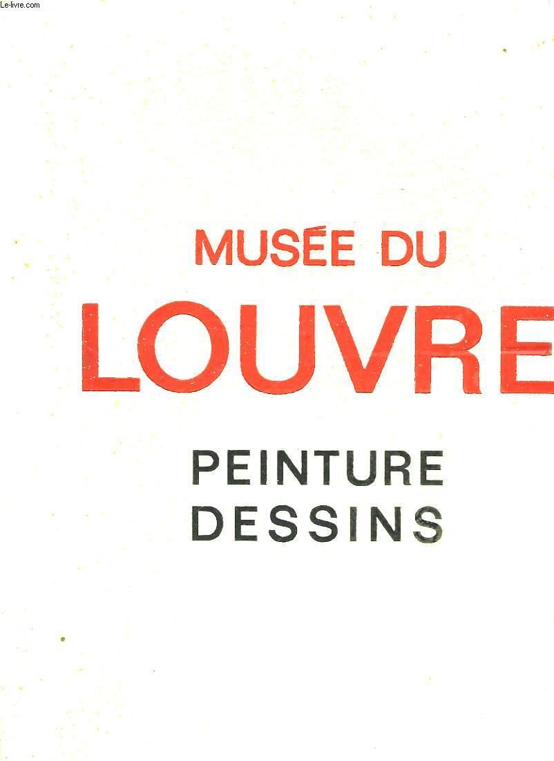 MUSEE DU LOUVRE PEINTURE DESSINS ECOLE FRANCAISE