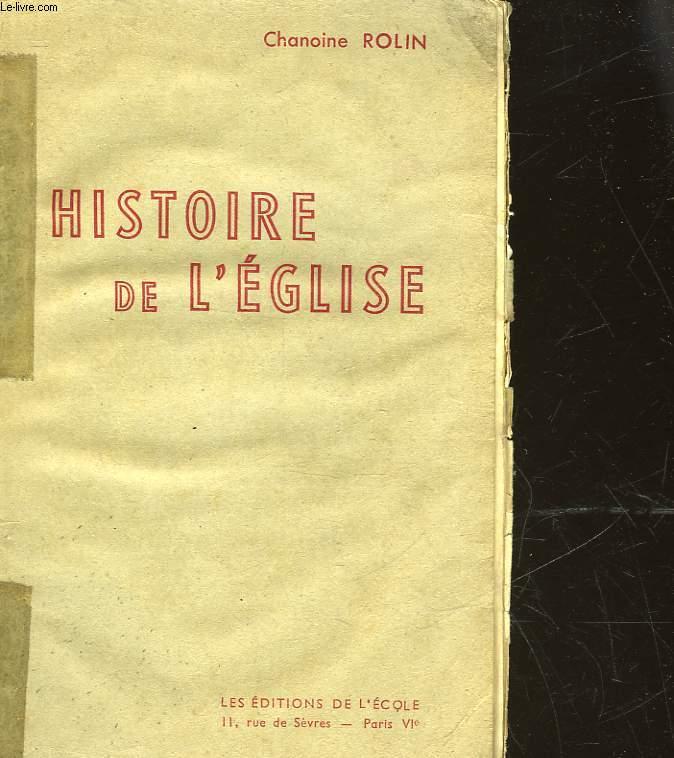 HISTOIRE DE L'EGLISE - N°21