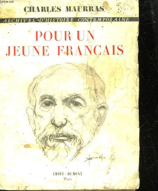 POUR UN JEUNE FRANCAIS