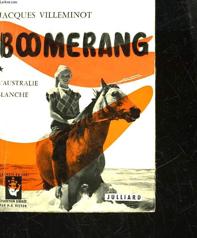 BOOMERANG - L'AUSTRALI BLANCHE
