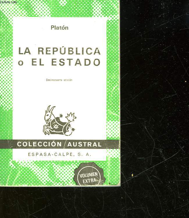 LA REPUBLICA O EL ESTADO