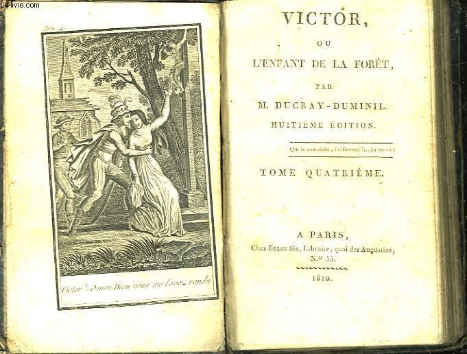 VICTOR OU L'ENFANT DE LA FORET - TOME 2