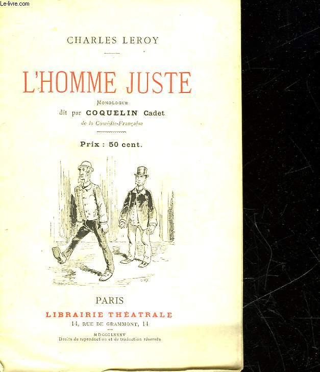 L'HOMME JUSTE