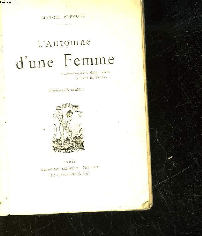 L'AUTOMNE D'UNE FEMME