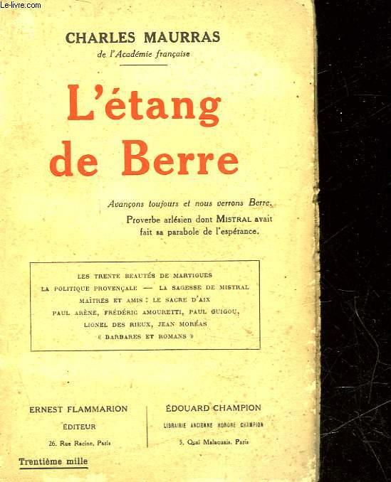 L'ETANG DE BERRE