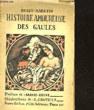HISTOIRE AMOUREUSE DES GAULES