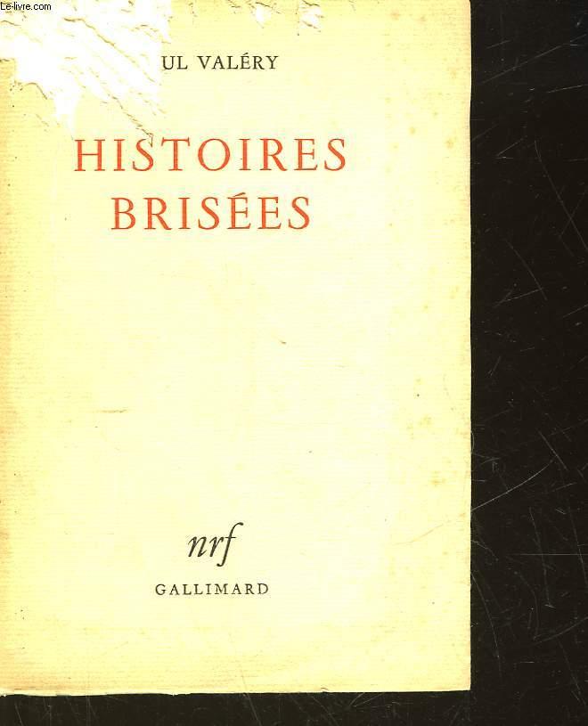 HISTOIRES BRISEES