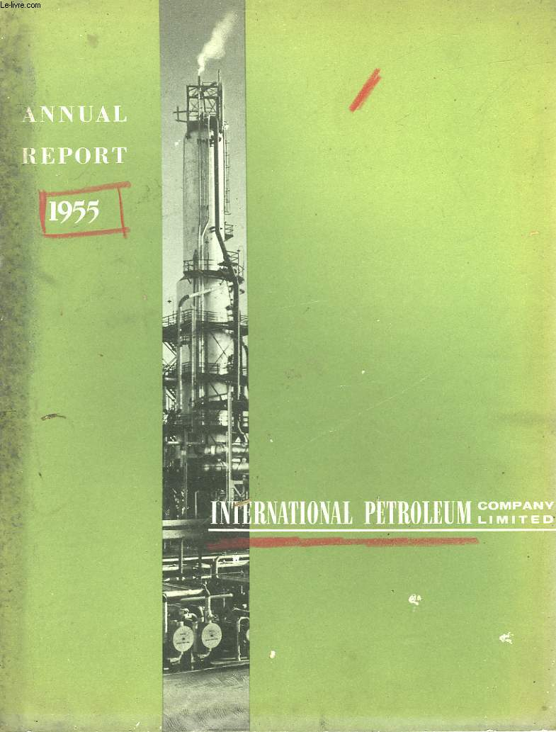 INTERNATIONAL PETROLEUM COMPANU LIMITED - ANNUAL REPORT