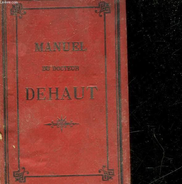 MANUEL DE MEDECINE, D'HYGIENE, DE CHIRURGIE ET DE PHARMACIE DOMESTIQUE