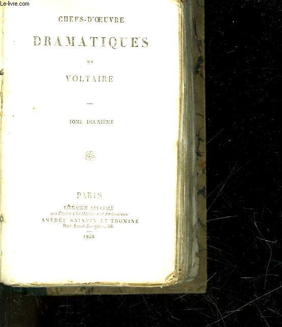 CHEFS-D'OEUVRES DRAMATIQUES - TOME 10