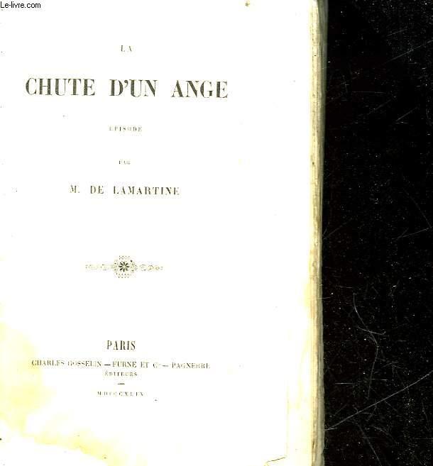 LA CHUTE D'UN ANGE