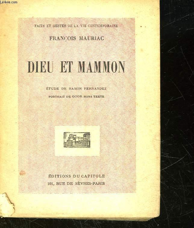 DIEU ET MAMMON