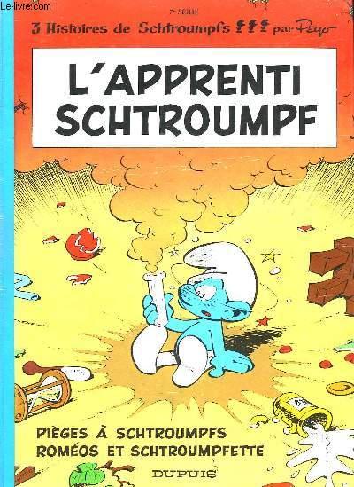 L'APPRENTI SCHTROUMPF - 7° SERIE