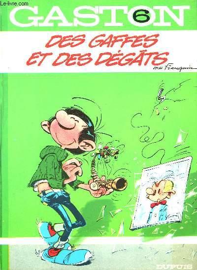 GASTON - N°6 - DES GAFFES ET DES DEGATS