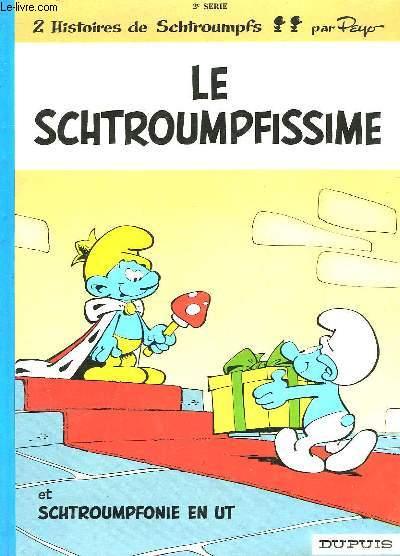 LE SCHTROUMPFISSIME - 2° SERIE