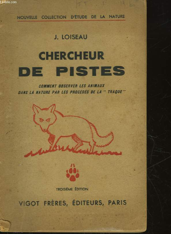 CHERCHEUR DE PISTES